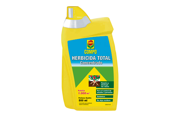 Herbicida total concentrado 500 ml