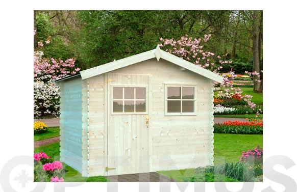 Caseta madera akro 2 260 x 260 x 217 cm
