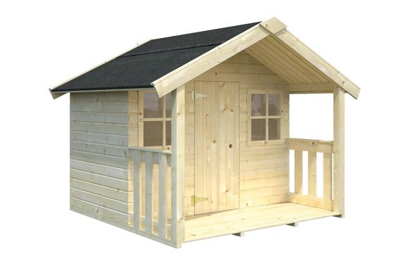 Caseta madera infantil felix 180 x 112 x 169 cm
