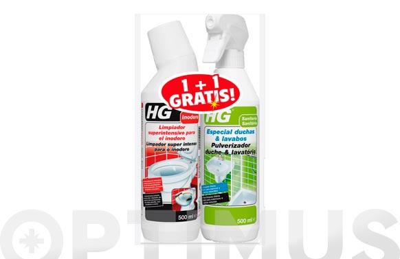 Limpiador superintensivo inodoro 500 ml regalo limpiador duchas y lavabos 500 ml