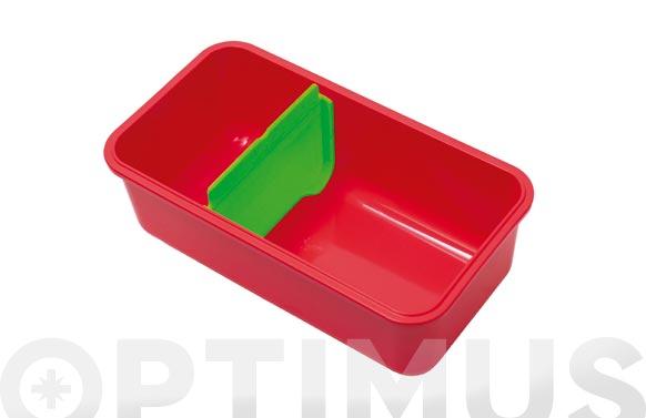 Separador para contenedor hermetico verde