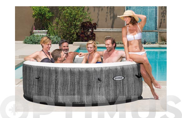 Spa greywood masaje burbujas deluxe 1098 l diametro 216 x 71 cm - 6 personas