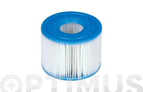 Cartucho filtro para spa s1 2 unidades