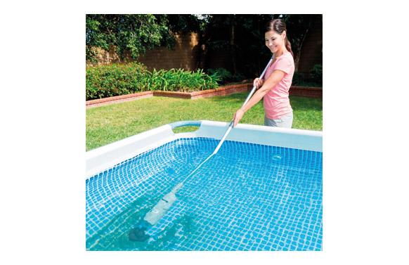 Aspirador para piscina o spa recargable