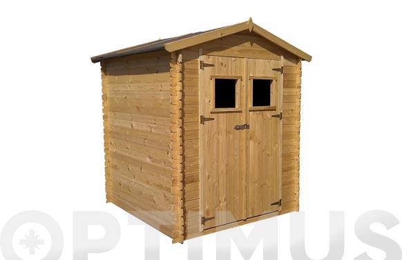 Cobertizo de madera alexander ii medidas 256 x 216 x 218 cm