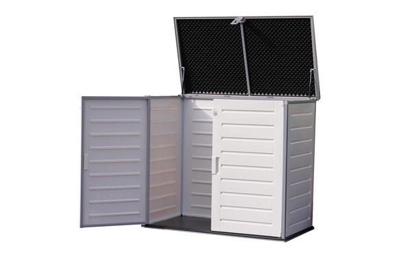 Arcon resina soften con amortiguador 845 lts 125,5 x 71 x 112,5 cm