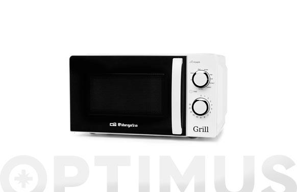 Horno microondas con grill mig-2130 20 l blanco
