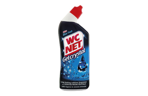 Limpiador wc gel crystal blue fresh 750 ml