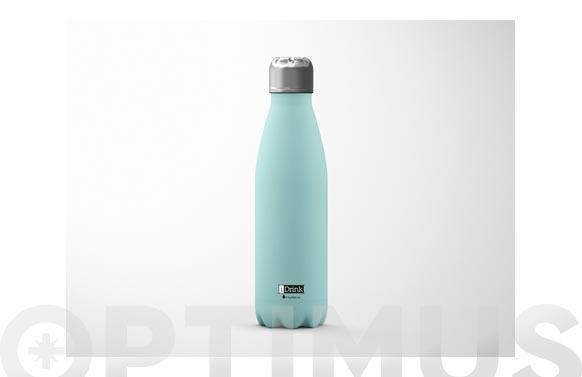 Botella termo inox 500 ml - verde menta