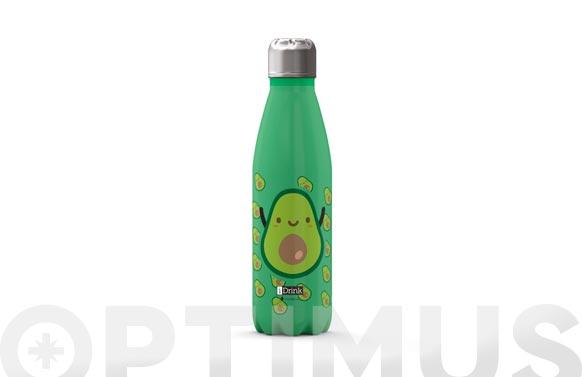 Botella termo inox 500 ml - aguacate
