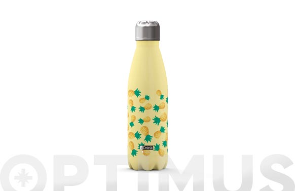 Botella termo inox 500 ml - piña
