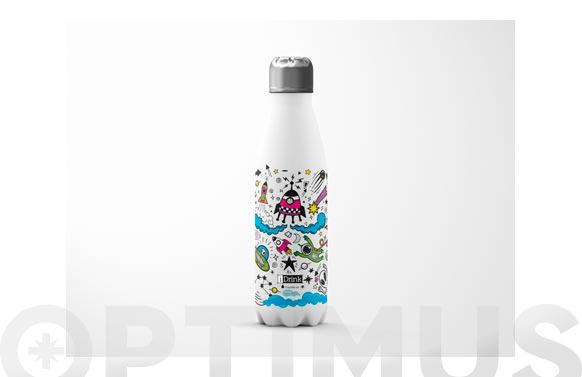 Botella termo inox 500 ml - espacio