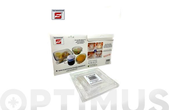 Film silicona reutilizable set 4 uds 14,5 x 14,5 (2) - 10 x 10 - 19 x 19 cms
