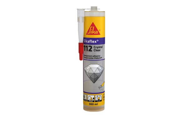 Masilla sikaflex 112 crystal clear c47/12 290 gr transparente