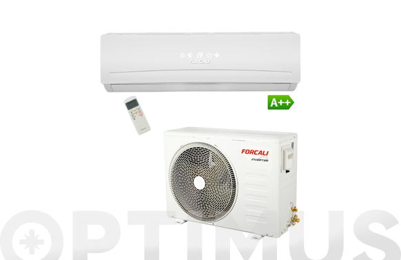 Aire acondicionado split 3000 frig inverter r410a 30m.