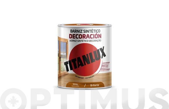 Barniz tinte brillo para madera 250 ml nogal