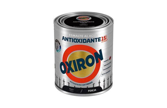 Esmalte agua oxiron forja 750 ml negro