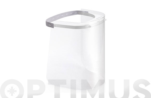 Pantalla facial protectora no epi blanco natural