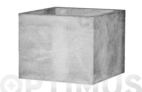 Salida de humos barbacoa 31 x 31 x 25 cm