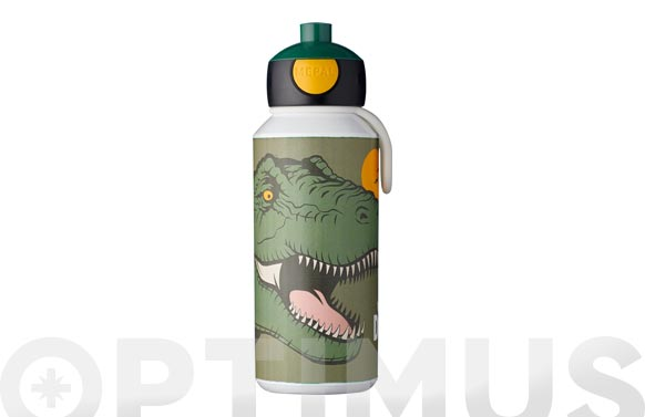 Botella pop-up campus dino 400 ml