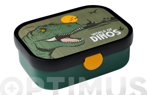 Contenedor lunch box campus dino