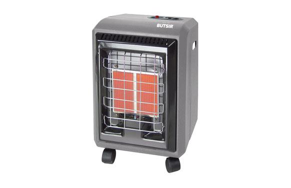 Estufa de infrarrojos hogar gris 3000w
