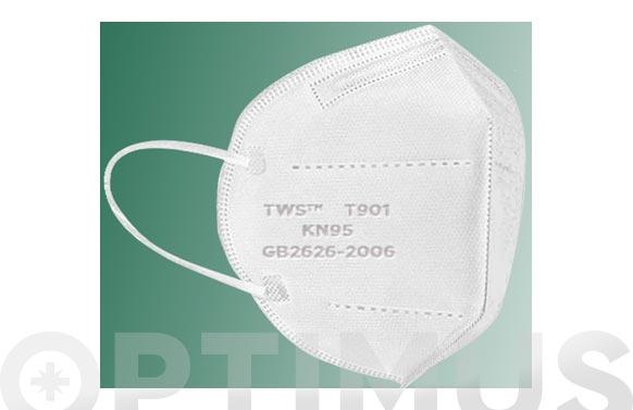 Mascarilla higienica proteccion kn 95 25 unidades