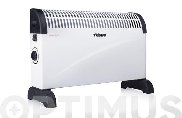 Convector electrico tristar 3 funciones termostato regulable 1500w