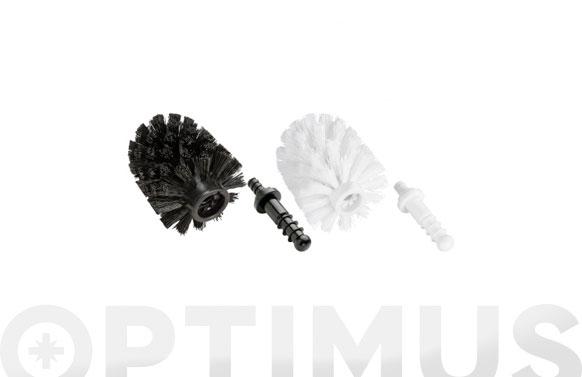 Cepillo de recambio con adaptador diametro 7.5 cm, blanco