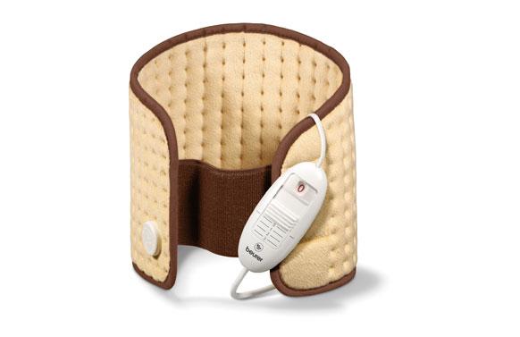 Almohadilla electrónica cervical/lumbar/abdomen transpirable ajustable