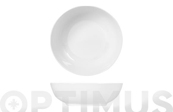 Ensaladera porcelana sweden blanca 24 cm