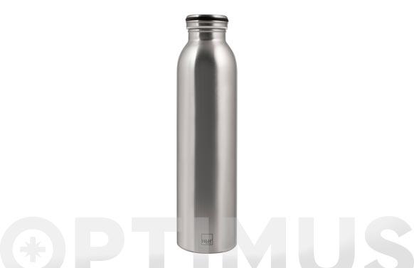 Botella termo inox 0,75 cl - inox