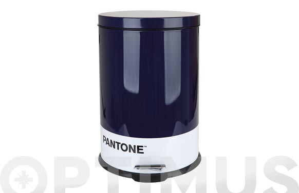 Cubo basura metal pantone 20 l - azul