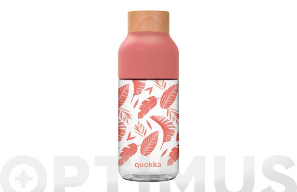 Botella tritan rosa botanical 570 ml