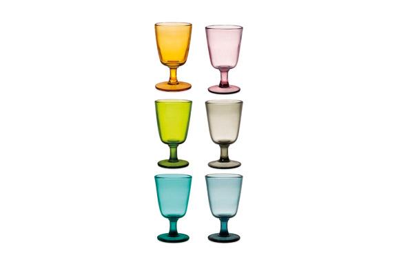 Copa vidrio saturno 28 cl - surtida