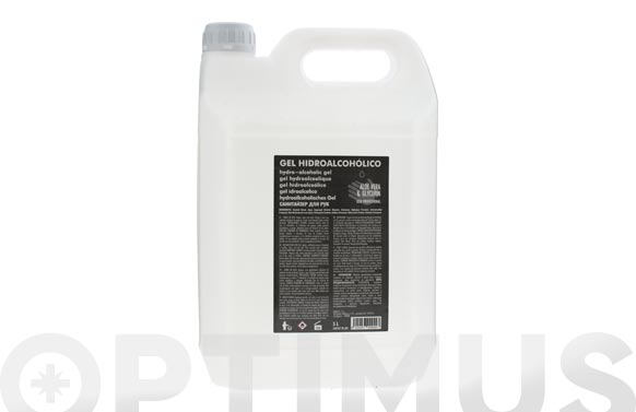 Gel hidroalcoholico 70% 5 l