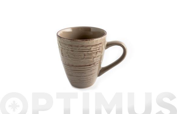 Mug stoneware courtyard tortora 40 cl