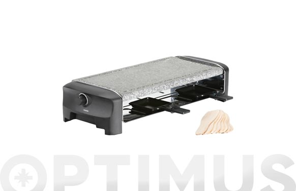 Raclette piedra 8 stone & grill party 1300 w 42 x 21 cm