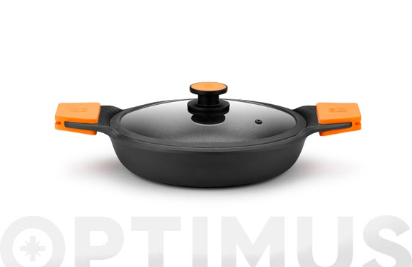 Cazuela baja aluminio fundido efficient plus 36 cm - inducción