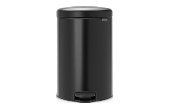 Cubo pedal new icon negro 20 l