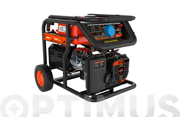 Generador mulhacen ats 7000 w arranque manual-electrico-automático ante un fallo