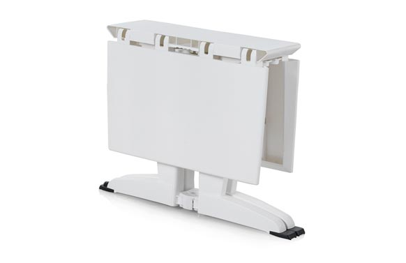 Mesa resina plegable plia blanco 115 x 81 cm