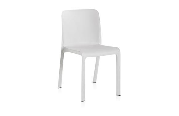 Silla resina grana blanco 48 x 53 x 80 cm