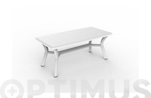Mesa rectangular orquidea blanco 180 x 90 cm