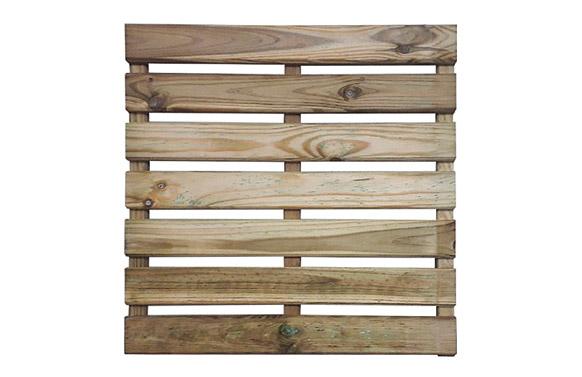 Baldosa cleia madera 30 mm 50 x 50 cm