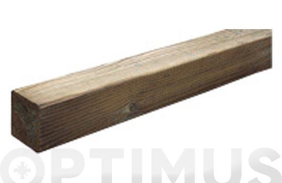 Poste madera cuadrado 7x7x240 cm