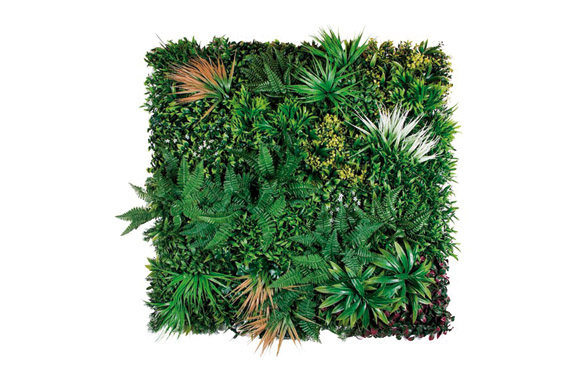 Jardin vertical artificial sauvage 1 x 1 m