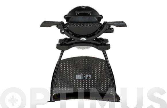 Barbacoa weber q1200 negra