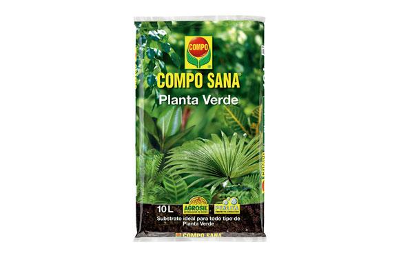 Substrato compo sana planta verde 10 l