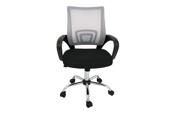 Silla oficina colors negro/gris